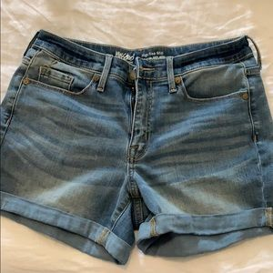 High rise mossimo Jean shorts